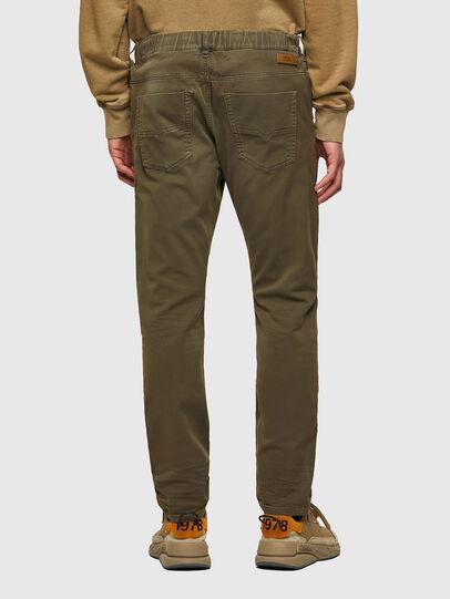Diesel - Krooley Tapered JoggJeans® 0670M, Dark Green - Jeans - Image 2