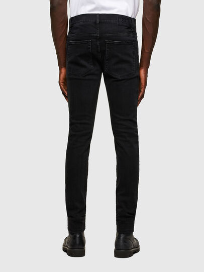 Diesel - D-Amny Skinny Jeans 084ZN, Black/Dark Grey - Jeans - Image 2