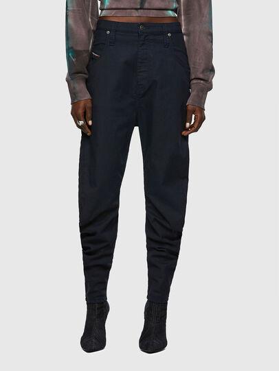 Diesel - D-Plata Boyfriend JoggJeans® 069WK, Dark Blue - Jeans - Image 1