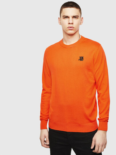 Diesel - K-FREEX, Orange - Sweaters - Image 1