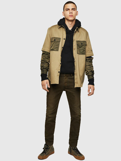 Diesel - D-Bazer 0091T, Military Green - Jeans - Image 6