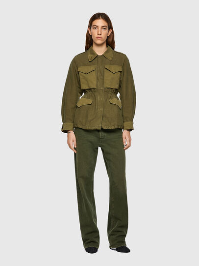 Diesel - G-CLAUDIA, Military Green - Jackets - Image 5