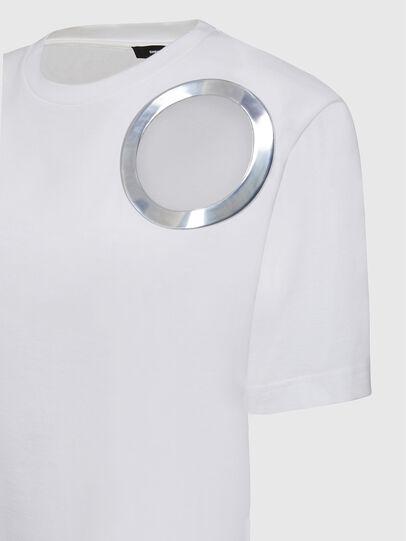 Diesel - T-EYES, White - T-Shirts - Image 3