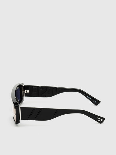 Diesel - DL0318, Black/Blue - Sunglasses - Image 3