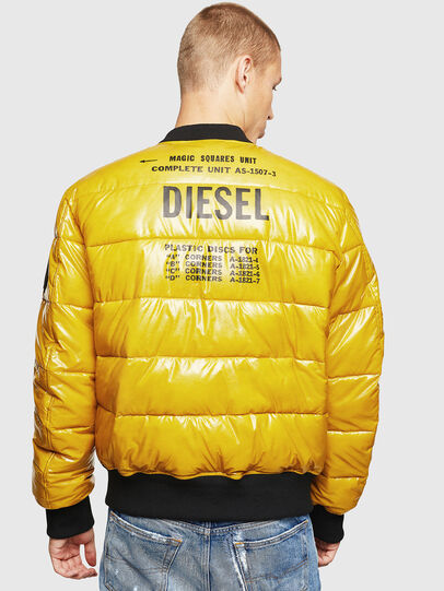 Diesel - W-ON, Yellow - Winter Jackets - Image 2