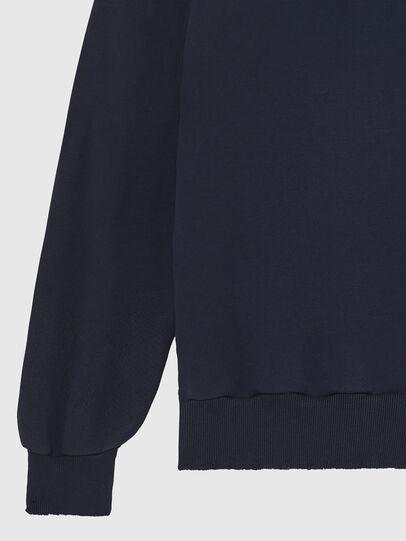 Diesel - S-GIR-HOOD-DIVISION-, Dark Blue - Sweatshirts - Image 4