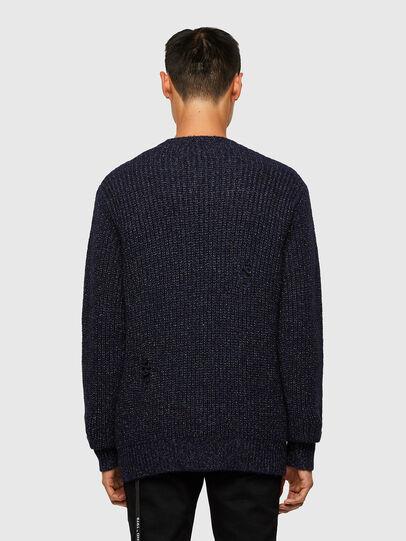 Diesel - K-CARBON, Dark Blue - Sweaters - Image 2