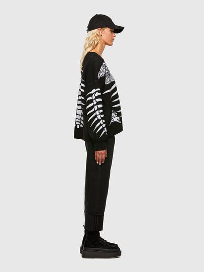 Diesel - M-CRYSTAL, Black - Sweaters - Image 5