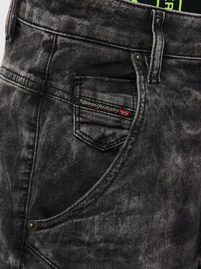 Diesel - FAYZA JoggJeans® 009FZ, Black/Dark Grey - Jeans - Image 3