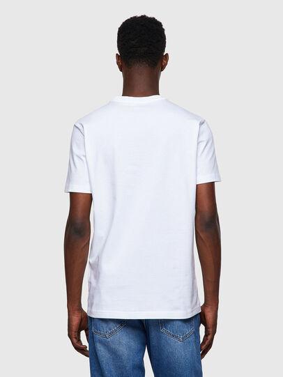 Diesel - T-DIEGOS-B8, White - T-Shirts - Image 2