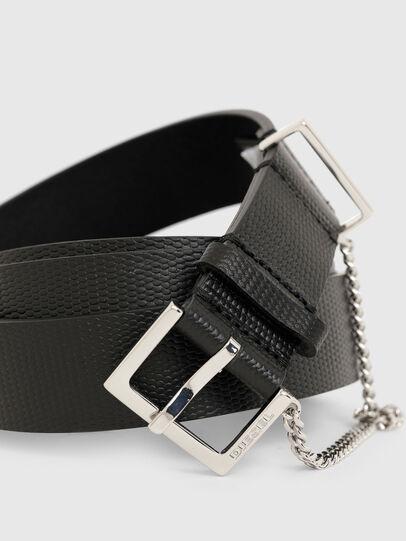 Diesel - B-MALIER, Black - Belts - Image 2