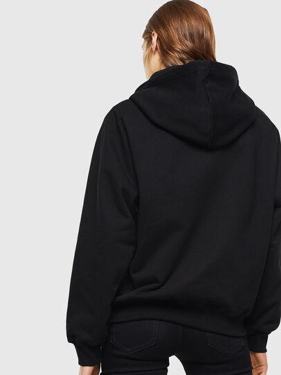 Diesel - F-ANG-HOOD-J1, Black - Sweatshirts - Image 2