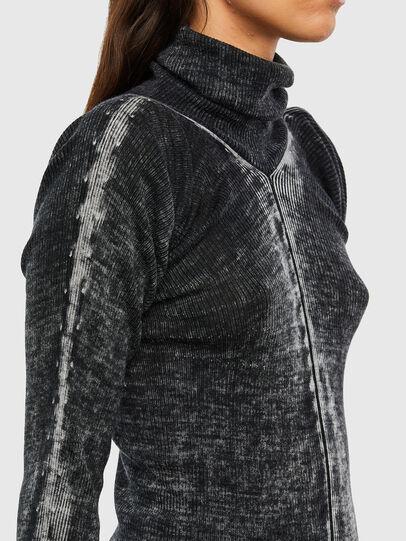 Diesel - M-ISABELLE, Black - Sweaters - Image 3