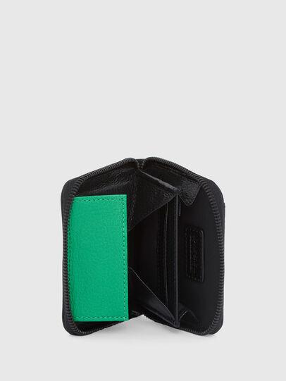 Diesel - CRASSU, Blue/Green - Zip-Round Wallets - Image 3