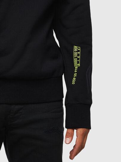 Diesel - S-GIRK-J2, Black - Sweatshirts - Image 5