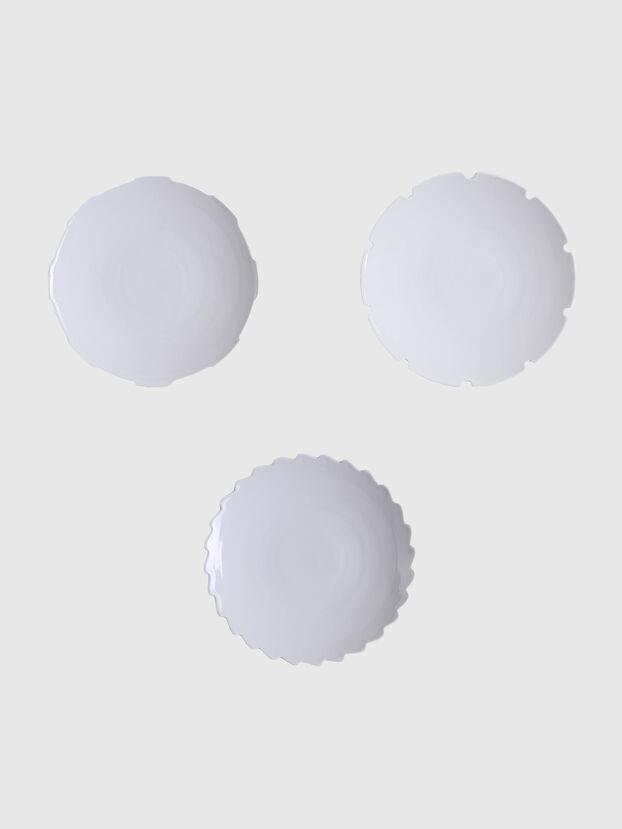 10913 MACHINE COLLEC, White - Plates