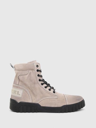Diesel - H-RUA AM, Pink/Black - Sneakers - Image 1