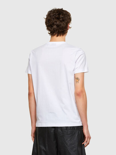 Diesel - T-DIEGOS-K38, White - T-Shirts - Image 2