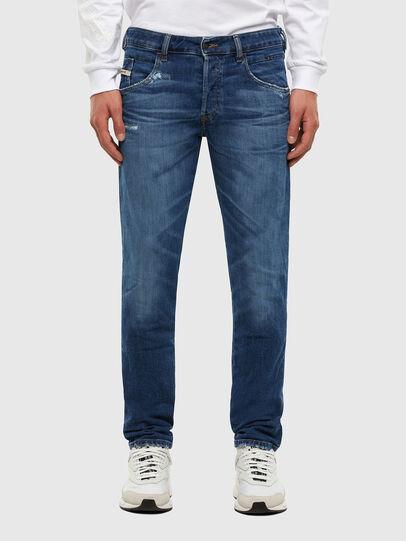 Diesel - D-Bazer Tapered Jeans 009DE, Dark Blue - Jeans - Image 1