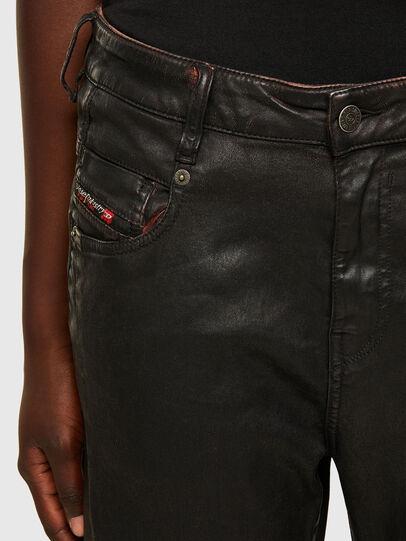 Diesel - Fayza JoggJeans 069PG, Black/Orange - Jeans - Image 3
