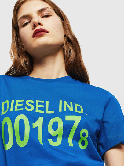 Diesel - T-DIEGO-001978, Brilliant Blue - T-Shirts - Image 6