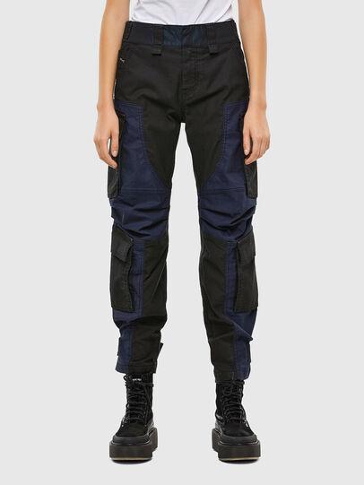 Diesel - D-Kiki JoggJeans® 009KM, Negro/Gris oscuro - Vaqueros - Image 1