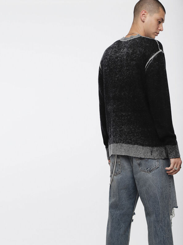 K-CONF, Black/Grey - Sweaters