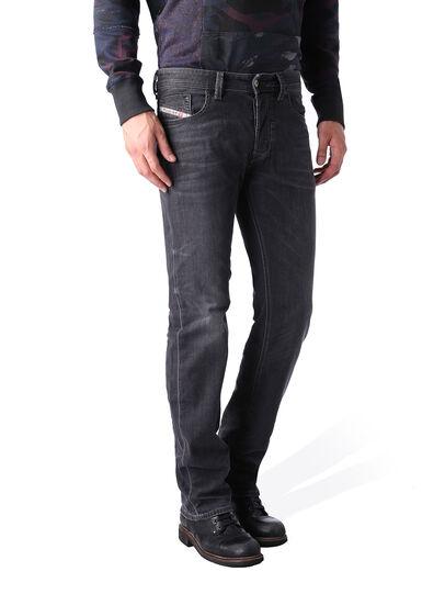 Diesel - Larkee 0669F, Black/Dark Grey - Jeans - Image 2