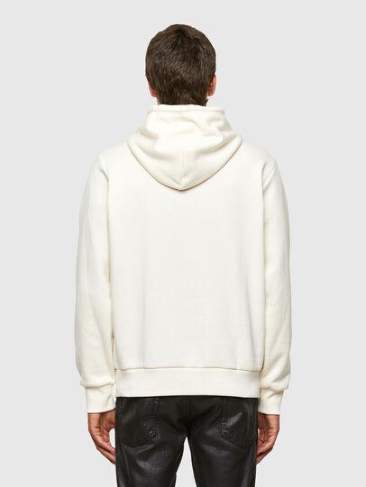 Diesel - S-GIRK-HOOD-N3, White - Sweatshirts - Image 2
