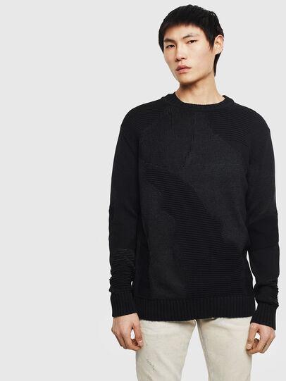 Diesel - K-CAMMY, Black - Sweaters - Image 1