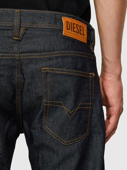Diesel - Larkee Straight Jeans 009HF, Dark Blue - Jeans - Image 4