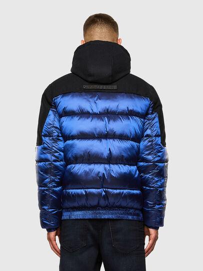 Diesel - W-NYWOOL, Blue - Winter Jackets - Image 2