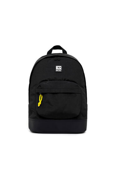Backpack in washed nylon