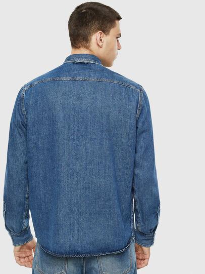 Diesel - D-WEAR-B, Blue Jeans - Denim Shirts - Image 6