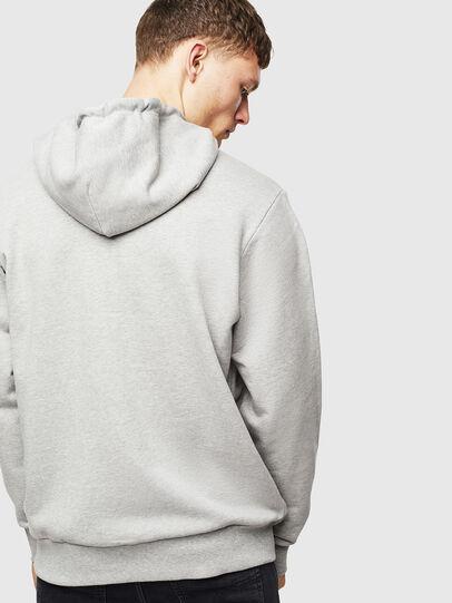 Diesel - S-GIR-HOOD-DIVISION-, Grey - Sweatshirts - Image 3