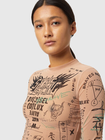 Diesel - T-SIELAY, Polvos de Maquillaje - Camisetas - Image 3