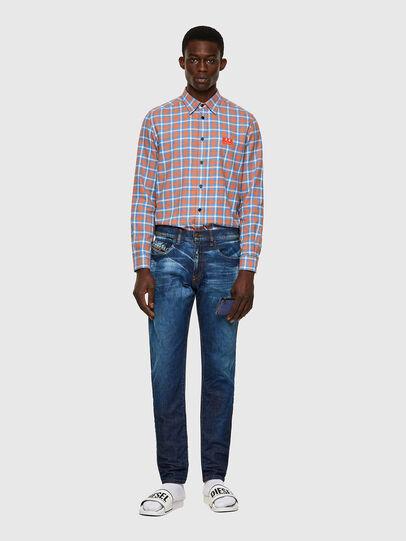 Diesel - D-Strukt Slim Jeans 09A13, Medium Blue - Jeans - Image 5