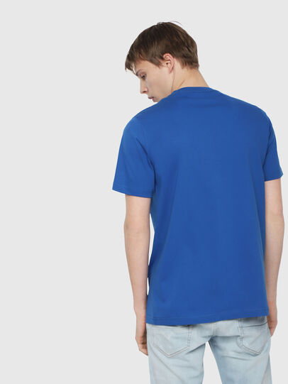 Diesel - T-JUST-DIVISION, Brilliant Blue - T-Shirts - Image 2
