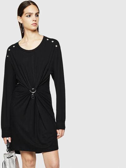 Diesel - D-DESH, Black - Dresses - Image 1