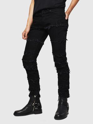 TYPE-2813-X, Black - Jeans