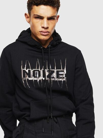 Diesel - S-GIRK-HOOD-J1, Black - Sweatshirts - Image 6