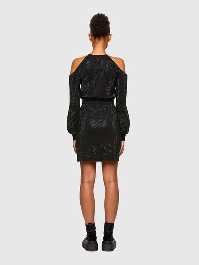 Diesel - D-ATENS, Black - Dresses - Image 2