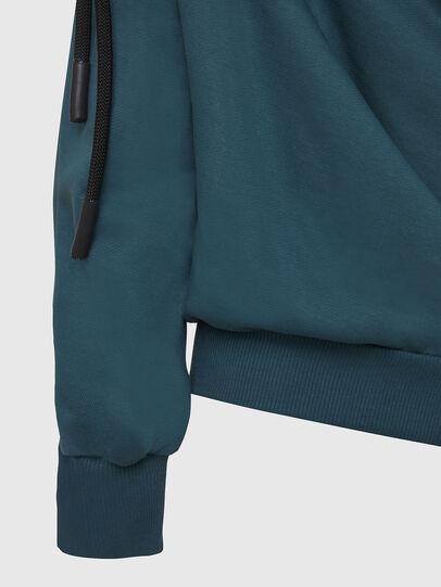 Diesel - F-REVERT, Water Green - Sweatshirts - Image 3