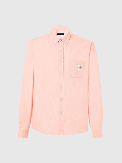 Diesel - S-JAMES, Pink - Shirts - Image 1
