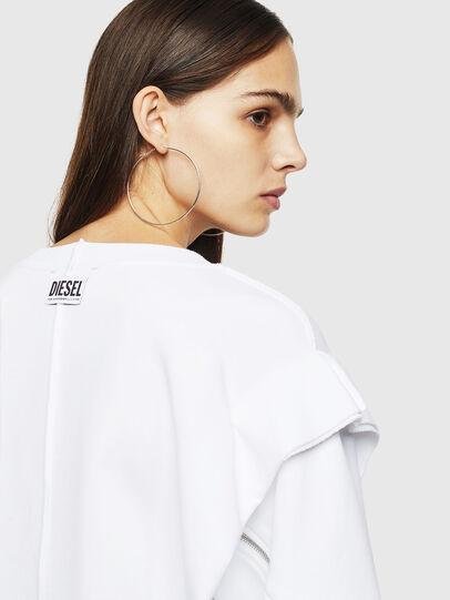 Diesel - F-HOSY, White - Sweatshirts - Image 3