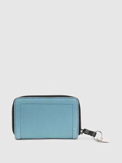 Diesel - BUSINESS LC, Light Blue - Small Wallets - Image 2