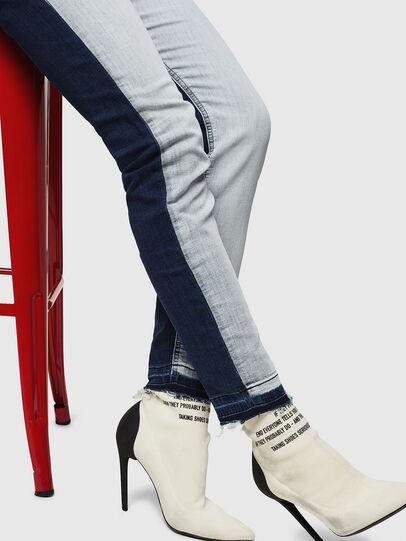 Diesel - Krailey JoggJeans 0870R, Medium Blue - Jeans - Image 4