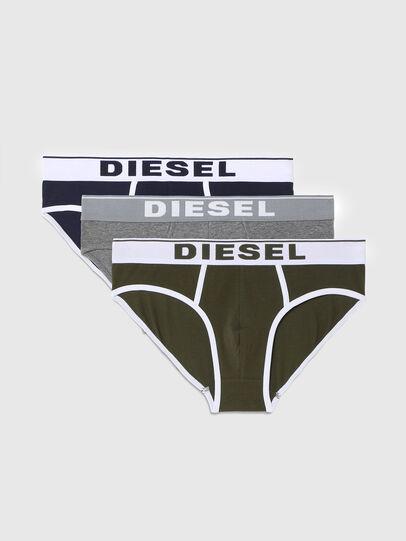 Diesel - UMBR-ANDRETHREEPACK, Verde/Gris - Slips - Image 1