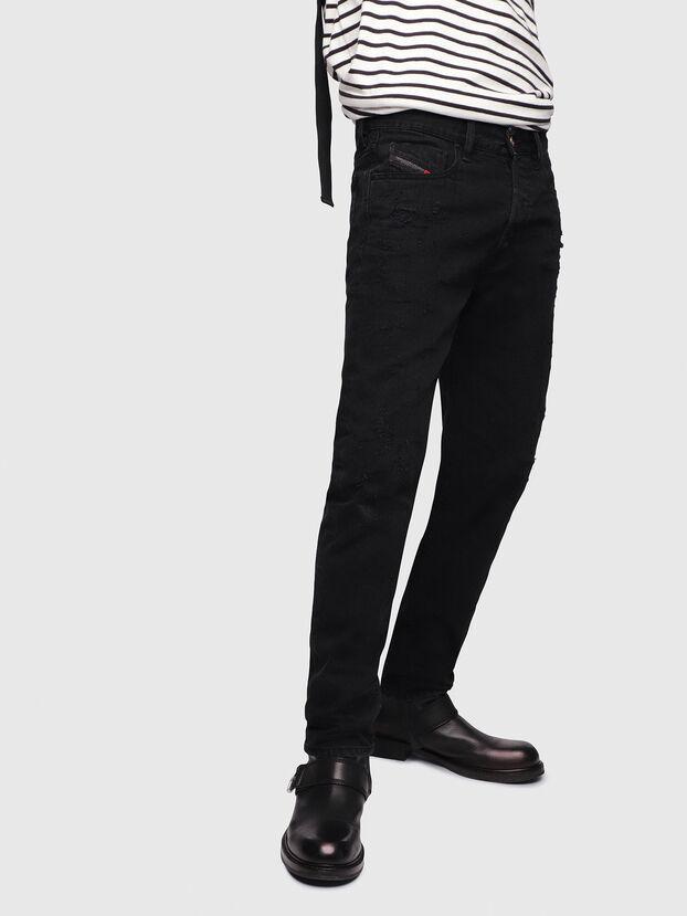 Mharky 088AD, Black/Dark Grey - Jeans