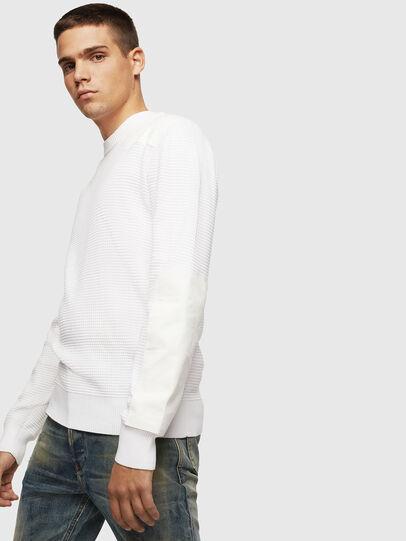 Diesel - K-LESTER, White - Sweaters - Image 4